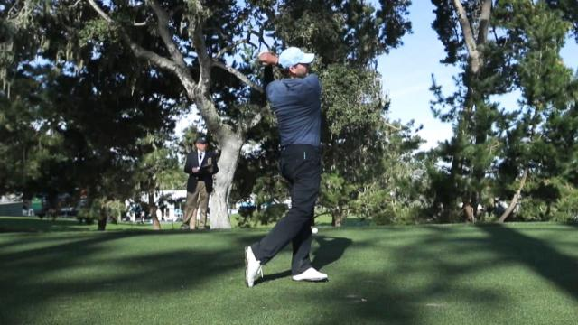 Tony Romo's golf swing analysis