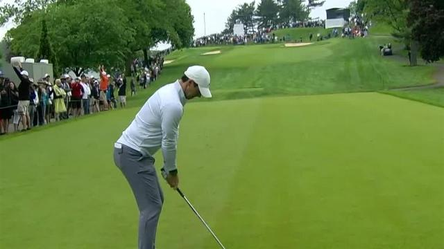 Rory McIlroy leads the field off the tee at the RBC Canadian Open