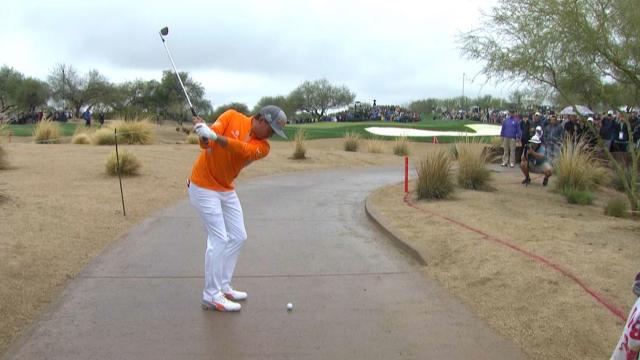 Best all-time shots off the cart path