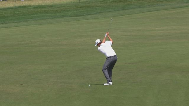 Today's Top Plays: Adam Schenk's eagle hole out is the Shot of the Day