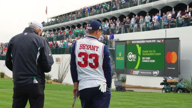 Players pay tribute to Kobe Bryant at 2020 Waste Management Phoenix Open