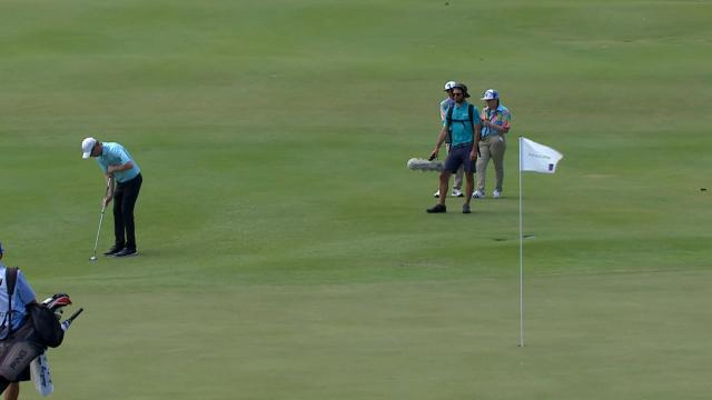 Today's Top Plays: David Hearn sinks birdie putt for Shot of the Day