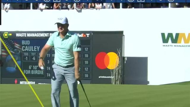 Bud Cauley's tee shot to 6 feet leads to birdie at Waste Management
