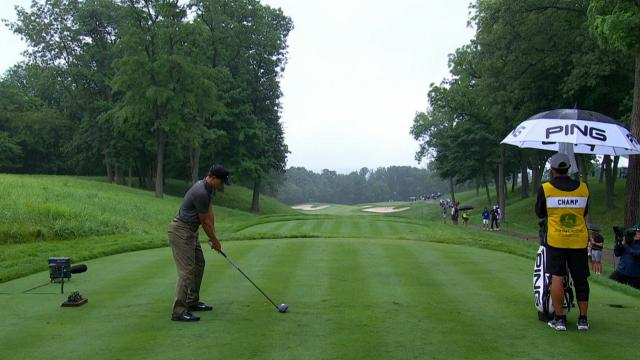 Leaders in driving from John Deere Classic