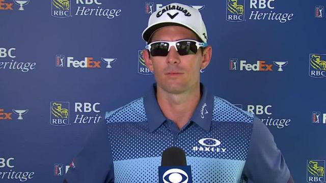 Dylan Frittelli's interview after Round 4 of RBC Heritage