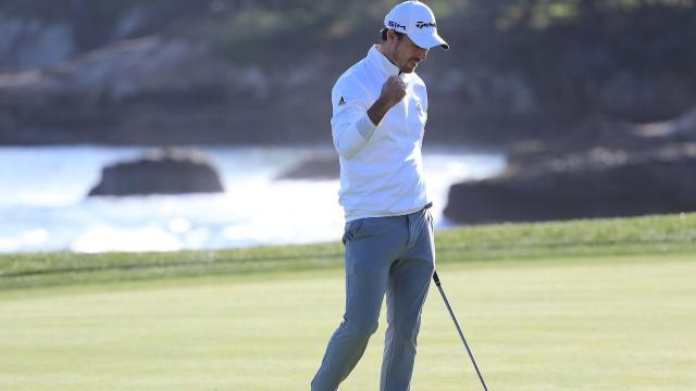 Nick Taylor goes wire-to-wire to win at AT&T Pebble Beach