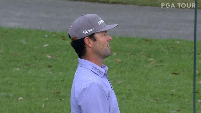 PGA TOUR | Today's Top Plays: Robert Streb's narrowly misses eagle approach for Shot of the Day