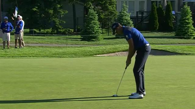 Henrik Stenson sinks 12-footer for birdie at RBC Canadian