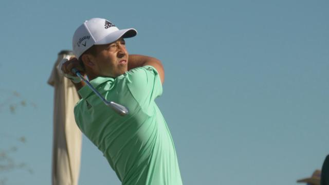 Xander Schauffele looks to continue momentous season