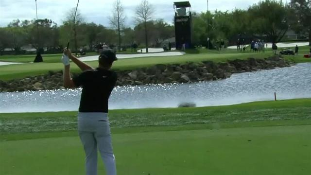 Keith Mitchell cards birdie No. 13 at Arnold Palmer