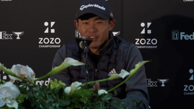 Collin Morikawa on his Japanese heritage before ZOZO