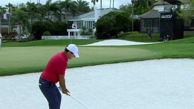 Patrick Reed's bunker play leads to birdie at Arnold Palmer