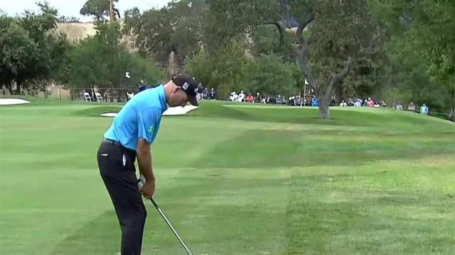 Jim Furyk's solid approach sets up 1-foot birdie at Safeway Open
