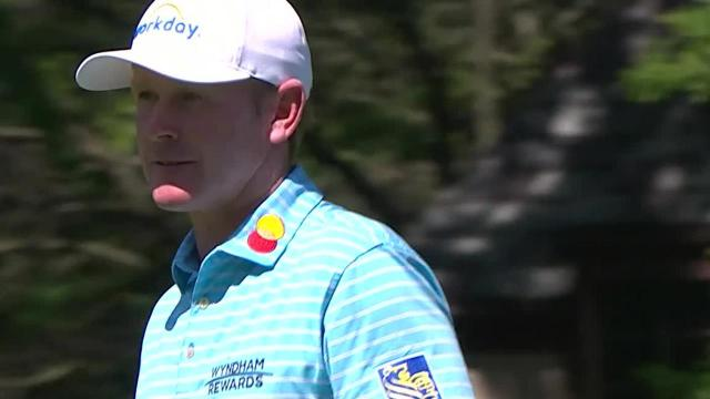 Brandt Snedeker's 175-yard approach yields birdie putt at Rocket Mortgage