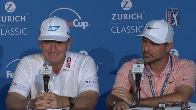 Els & Immelman news conference before Zurich Classic
