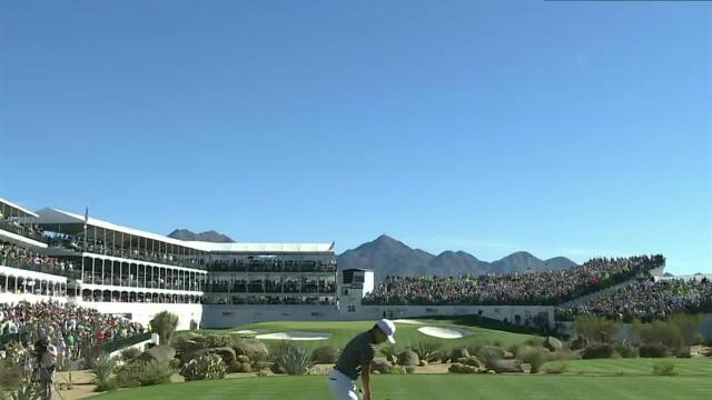 Sung Kang dials in tee shot to set up birdie at Waste Management