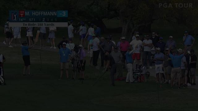 Morgan Hoffmann's solid approach from the crowd at Valero