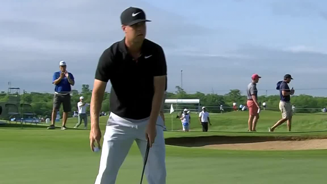 Keith Mitchell sticks approach to set up birdie at AT&T Byron Nelson
