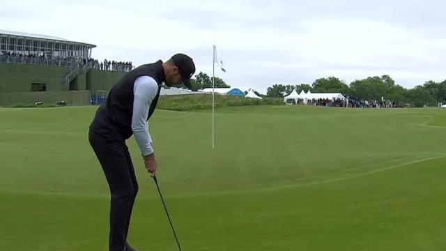 Kevin Tway sinks lengthy birdie putt at AT&T Byron Nelson