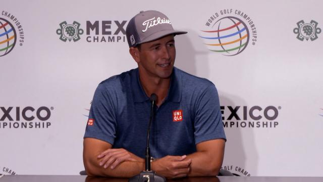 Adam Scott on how much winning does for your confidence before WGC-Mexico