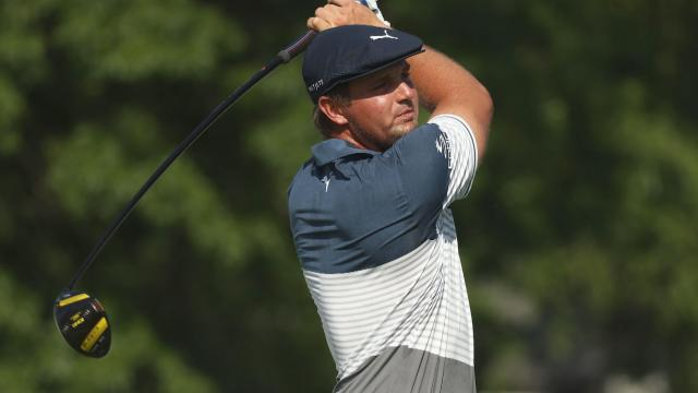 Bryson DeChambeau's longest drives at Rocket Mortgage Classic