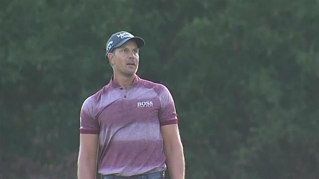 Henrik Stenson opens with birdie at Houston Open