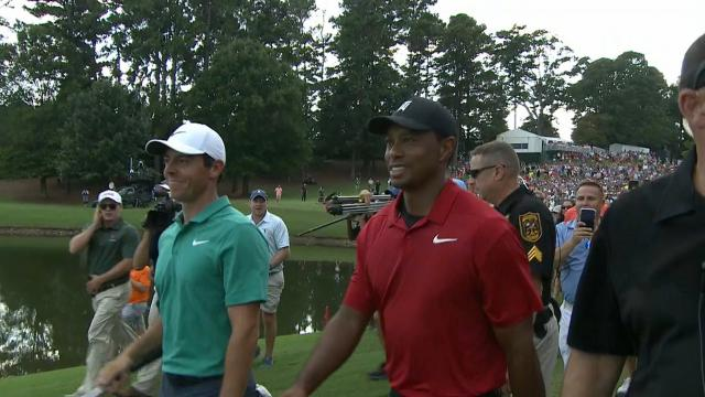 Tiger Woods on his growing rivalry with Rory McIlroy