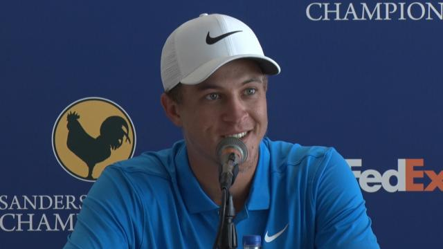 Cameron Champ among new friends before Sanderson Farms