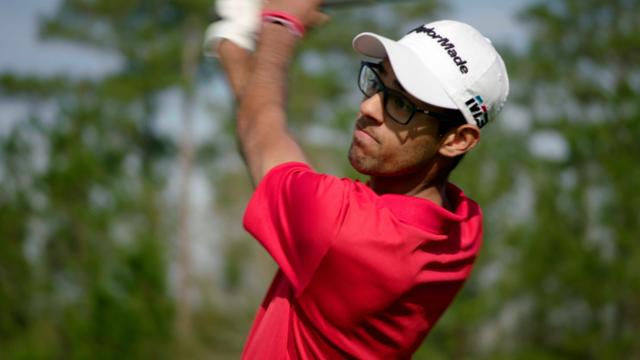 Amateur star Akshay Bhatia's success story