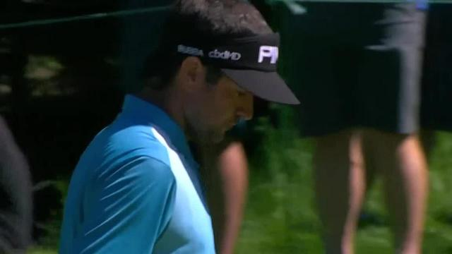 Bubba Watson drains 20-footer for birdie at RBC Canadian
