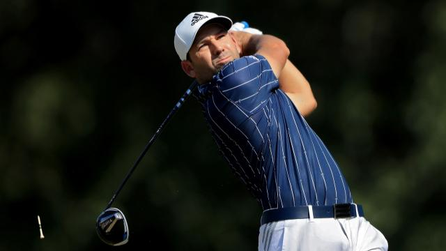 Sergio Garcia's golf swing compilation 1999-2020