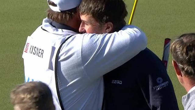 Today's Top Plays: Kevin Kisner's finishing birdie putt for Shot of the Day