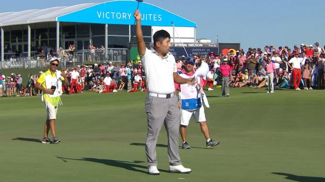 Sung Kang's Round 4 highlights from AT&T Byron Nelson