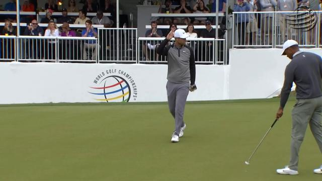 Tiger Woods vs. Lucas Bjerregaard highlights from WGC-Dell Match Play