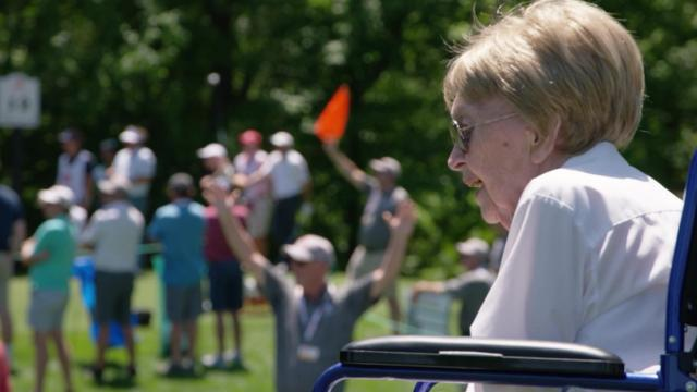 Adam Long's grandma is his No. 1 fan at Wells Fargo