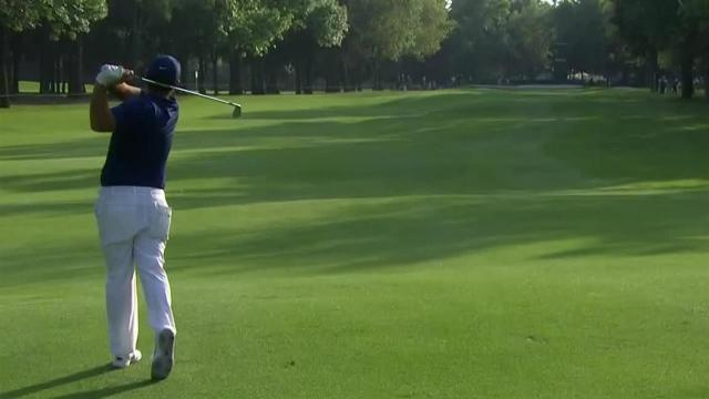 Patrick Reed reaches in two to set up birdie at WGC-Mexico