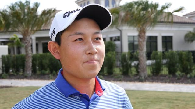 Dylan Wu comments after Round 1 of LECOM Suncoast Classic