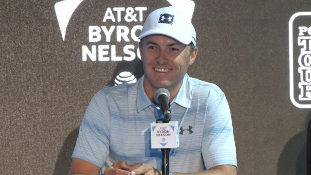 Jordan Spieth comments before AT&T Byron Nelson