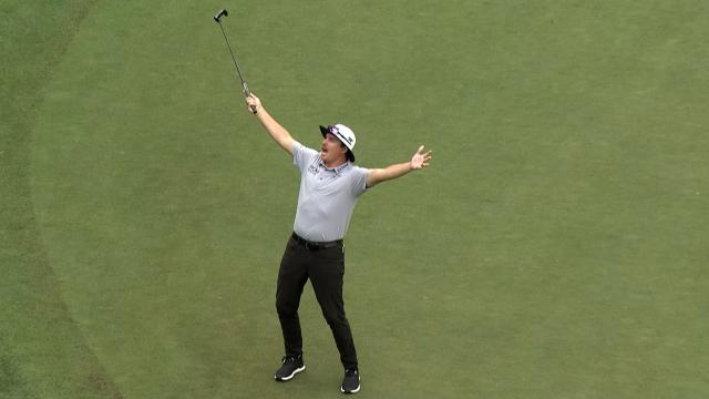 Tiger bounces back, JT leads again and Bubba's almost albatross