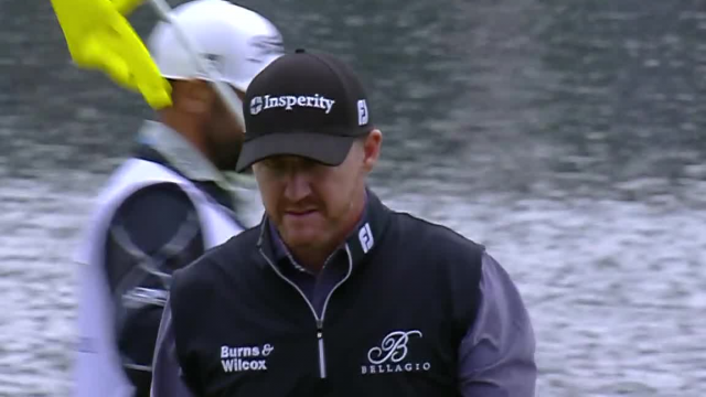Jimmy walker sticks tee shot to birdie No. 17 at THE PLAYERS