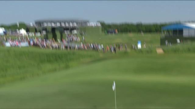 Stephan Jaeger's near ace on No. 17 at AT&T Byron Nelson