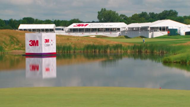 Players discuss the Arnold Palmer-designed TPC Twin Cities at 3M Open