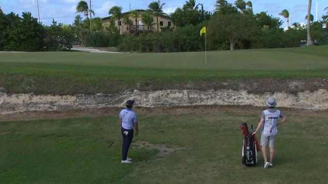 George Cunningham's clutch hole-out at the Great Exuma