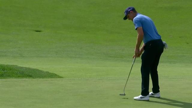 Justin Rose closes Round 3 with birdie at the Memorial
