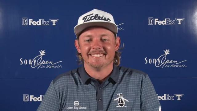 Cameron Smith on the evolution of his mullet before Sony Open