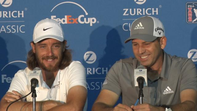Fleetwood & Garcia news conference before Zurich Classic