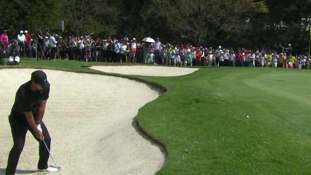 Patrick Reed's bunker play leads to birdie at WGC-Mexico