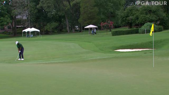 Today's Top Plays: Harold Varner III's hole-out chip shot for the Shot of the Day