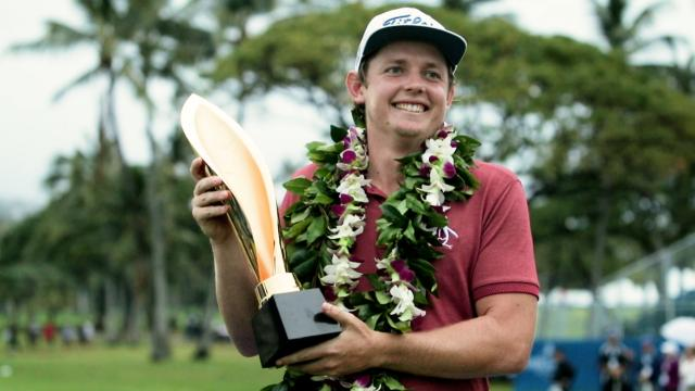 Cameron Smith looks to defend his title at Sony Open in Hawaii