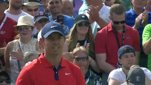 Rory McIlroy drains 11-foot birdie putt at RBC Canadian
